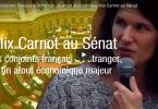 Alix Carnot au Sénat