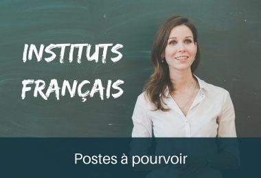Postes Institut Français
